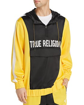True Religion - Pullover Color-Block Windbreaker Jacket