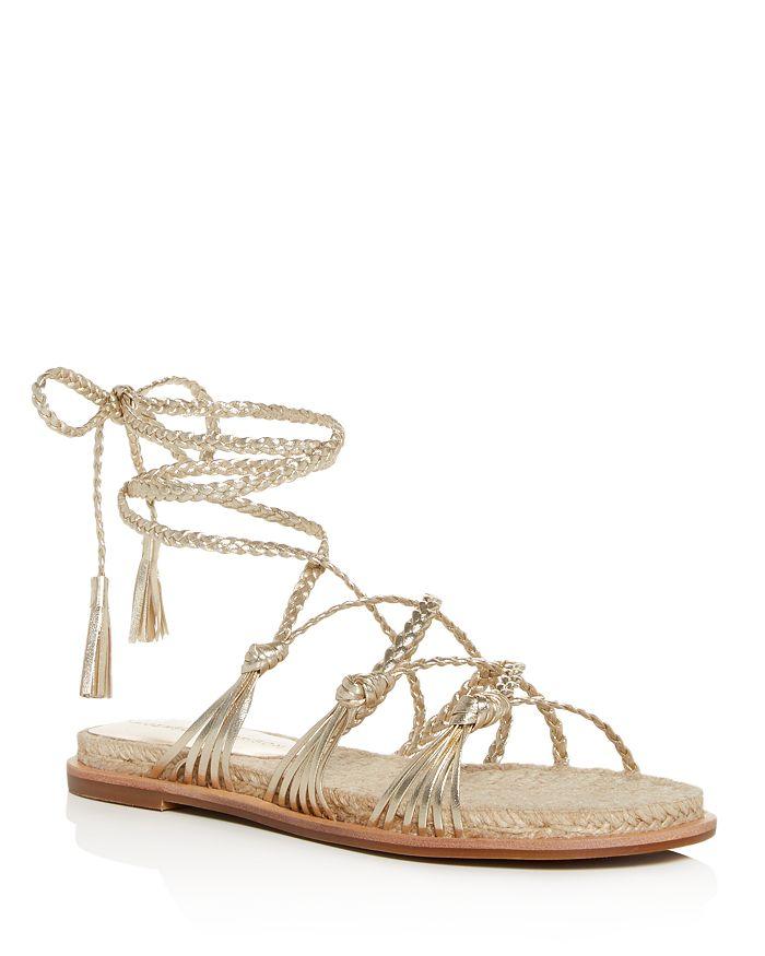 Sigerson Morrison - Women's James Ankle-Tie Sandals