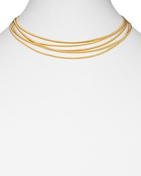 Marco Bicego - 18K Yellow Gold Cairo Multi-Strand Collar Necklace, 17""