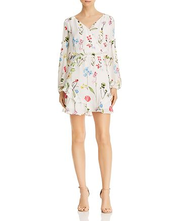 Parker - Shona Floral-Printed Silk Dress