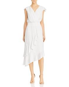 Parker - Jannie Striped Asymmetric Dress