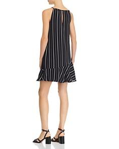 AQUA - Flounced Striped Swing Dress - 100% Exclusive