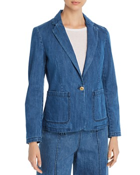 MKT Studio - Vaya Westside Denim Blazer