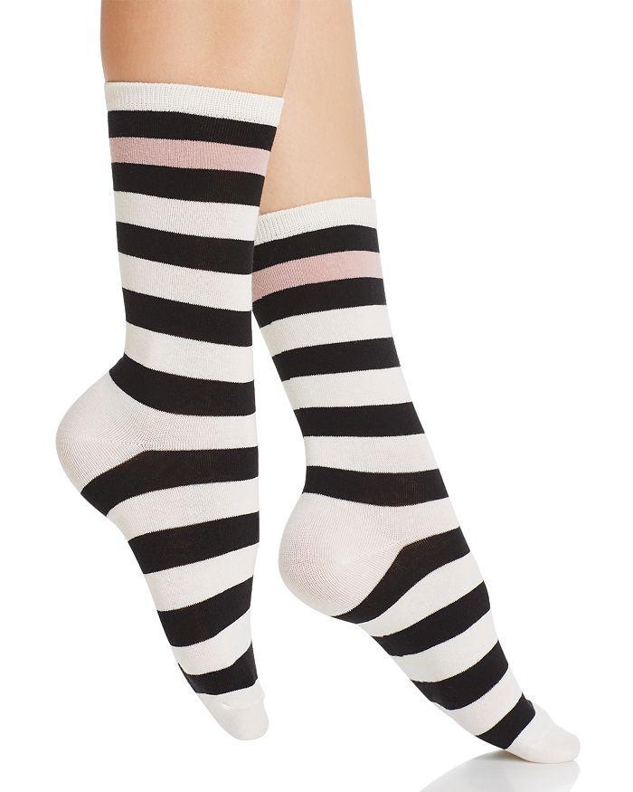 kate spade new york - Pop Stripe Crew Socks