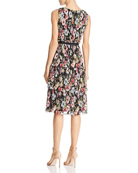 Adrianna Papell - Garden Space Pleated Dress