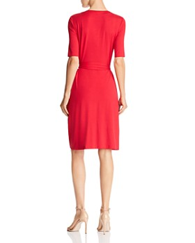 bac9ed01318e6 ... Adrianna Papell - Faux-Wrap Jersey Dress - 100% Exclusive