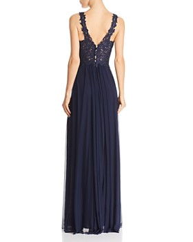 Faviana Couture - Lace-Bodice Gown