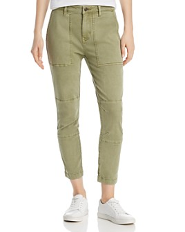 Current/Elliott - The Weslan Lace-Up Back Cuff Pants