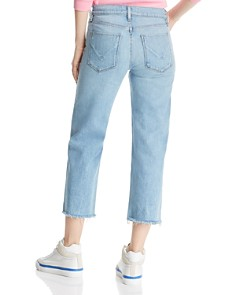 Hudson - Stella Crop Straight Jeans in Sundried