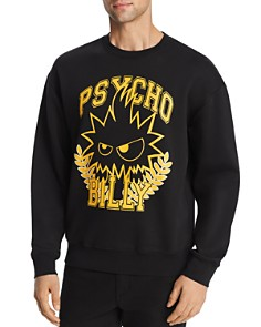 McQ Alexander McQueen - Psycho Billy Graphic Sweatshirt