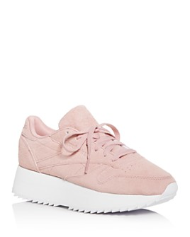 Reebok - Women's Classic Low-Top Platform Sneakers