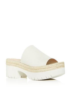 Aquatalia - Women's Whitney Weatherproof Espadrille Platform Sandals