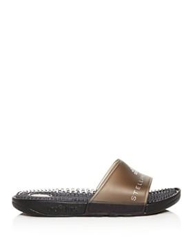 new style f485f 8e787 ... adidas by Stella McCartney - Women s Adissage Slide Sandals