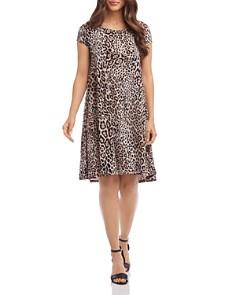 Karen Kane - Maggie Leopard-Print Swing Dress