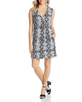 253dcdd80d54e Karen Kane - Sleeveless Snake-Print Shift Dress - 100% Exclusive ...