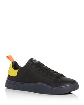 Diesel - Men's S-Clever Leather Low-Top Sneakers