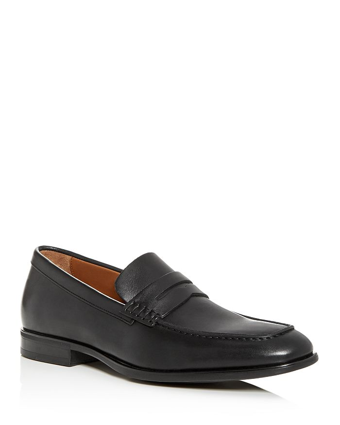 Aquatalia - Men's Adamo Weatherproof Leather Penny Loafers
