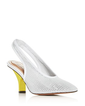 Marni - Women's Slingback Open-Weave Pumps
