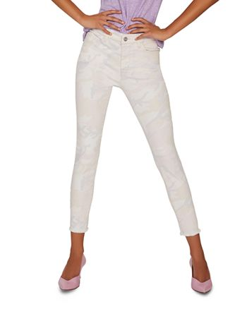 Sanctuary - Social Standard Ankle Skinny Jeans in Charming Camo