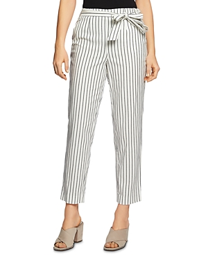 Image of 1.state Striped Tapered-Leg Pants