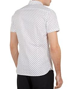 Ted Baker - Polarbe Small Dot Print Slim Fit Shirt