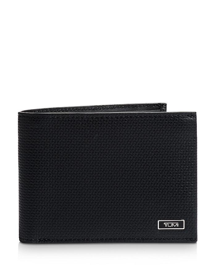 Tumi - Monaco Embossed Leather Double Billfold Wallet