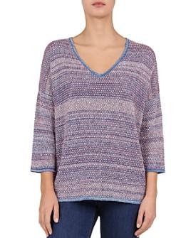 Gerard Darel - Jodie Melange-Knit V-Neck Sweater