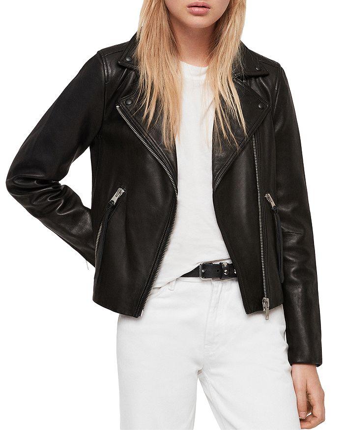 11f6411ee20 Dalby Leather Biker Jacket