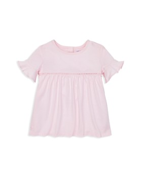 f6870aeba22 Ralph Lauren - Girls  Ruffle-Cuff Cotton-Blend Top - Baby ...