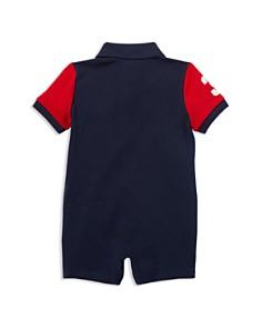 Ralph Lauren - Boys' Color-Block Cotton Mesh Polo Shortall - Baby