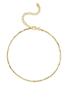Argento Vivo - Box Chain Anklet
