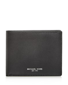 Michael Kors - Slim Leather Bi-Fold Wallet