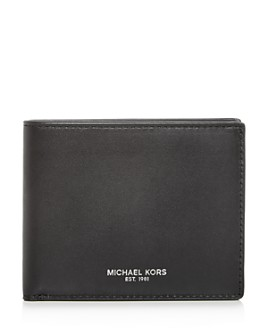 Michael Kors - Slim Leather Bi-Fold Wallet