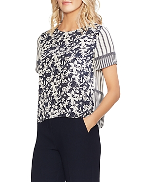 Vince Camuto Tops MIXED PRINT TOP
