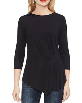 VINCE CAMUTO - Pleat-Front Top