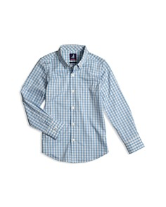 Johnnie-O - Boys' Chet Checked Button-Down Shirt  - Little Kid
