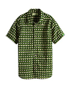 Scotch Shrunk - Boys' Printed Button-Down Shirt - Little Kid, Big Kid