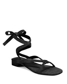 Vince - Women's Bonham Ankle Tie Sandals ...