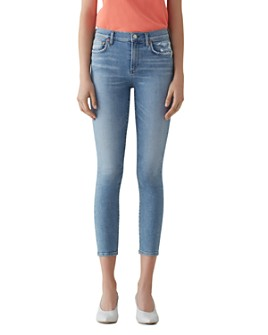 AGOLDE - Sophie High Rise Crop Skinny Jeans in Limit