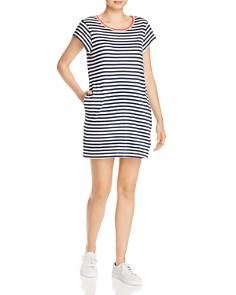 Splendid - x Gray Malin Seaside Striped T-Shirt Dress
