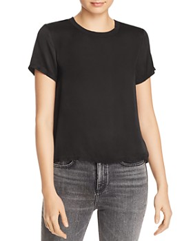 Nation LTD - Marie Boxy Sateen Tee