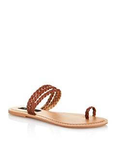 AQUA - Women's Slay Braided Strappy Sandals - 100% Exclusive