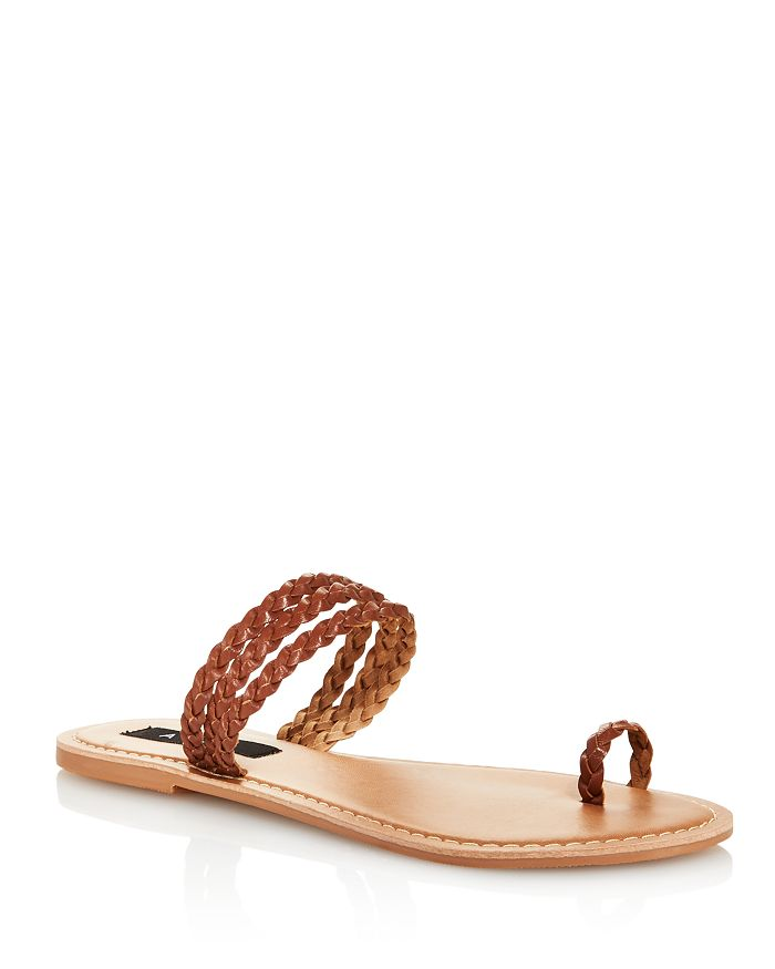 AQUA - Women's Slay Braided Strappy Sandals - 100% Exclusive