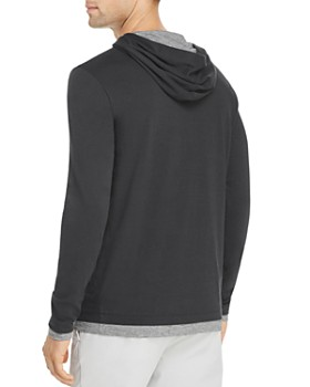 813347776af ... Theory - Daulton Double-Layer Hooded Long-Sleeve Tee - 100% Exclusive