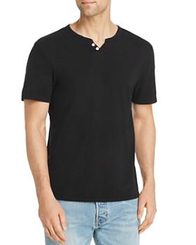 Joe's Jeans - Wintz Short-Sleeve Slub-Knit Henley