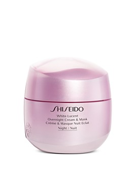 Shiseido - White Lucent Overnight Cream & Mask 2.6 oz.