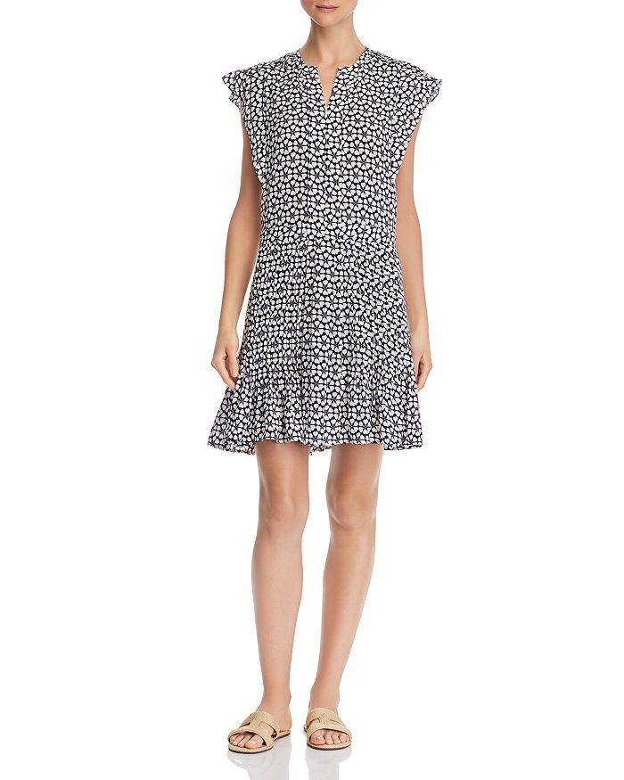 Rebecca Minkoff - Cassandra Printed Pleated Dress