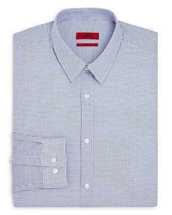 HUGO - Micro Textured Slim Fit Dress Shirt