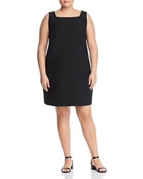 Eileen Fisher Plus - Sleeveless Shift Dress