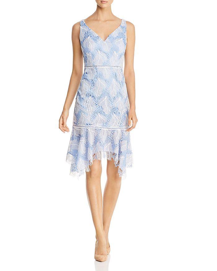 740e6de7df3f Elie Tahari Mariya Embroidered Lace Dress | Bloomingdale's